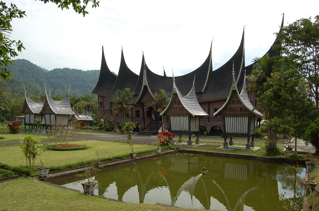 Rumah Gadang Rumah Adat Indonesia