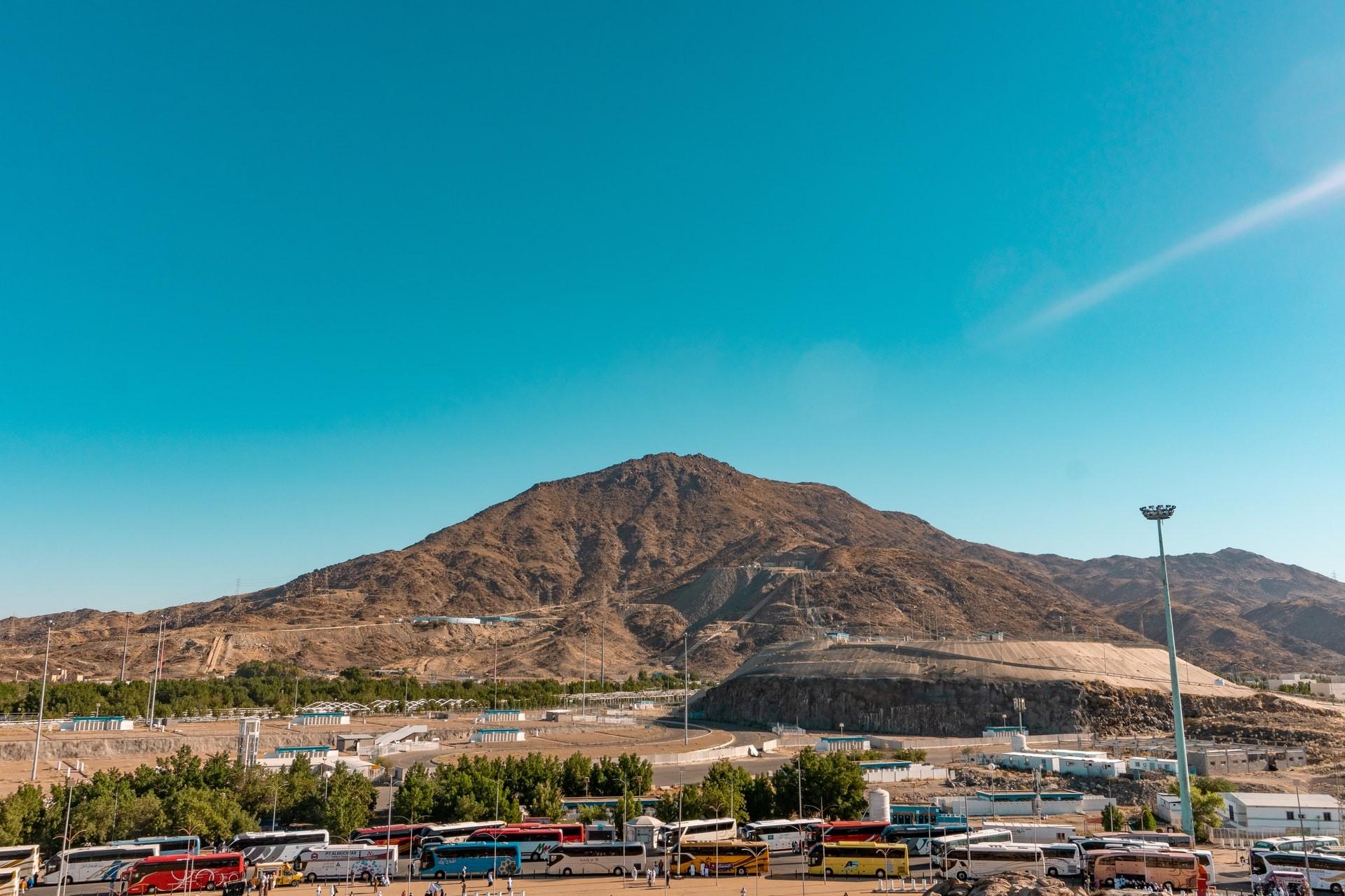 Mount Arafat Saudi Arabia