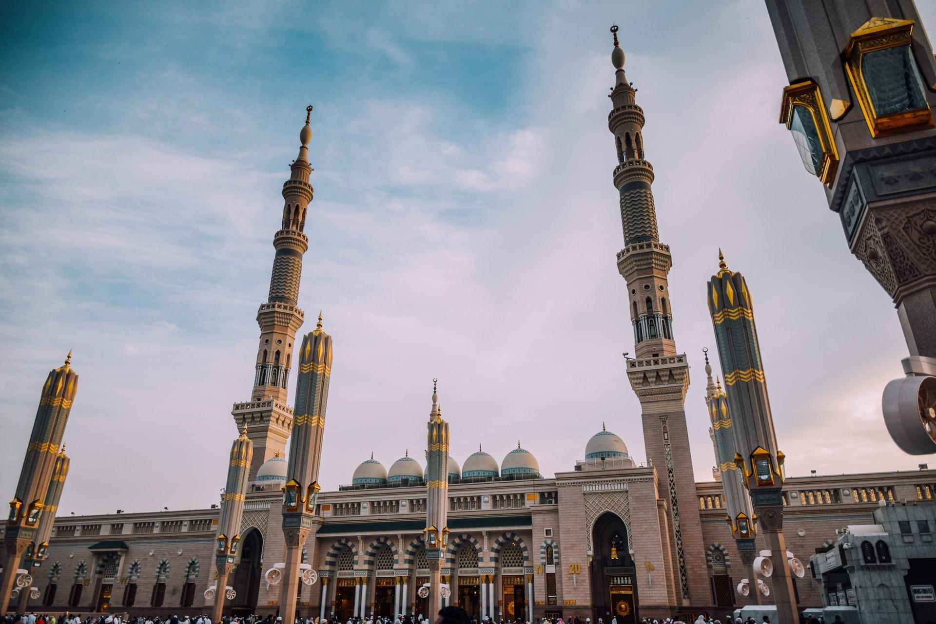 Masjid an Nabawi Madinah Saudi Arabia