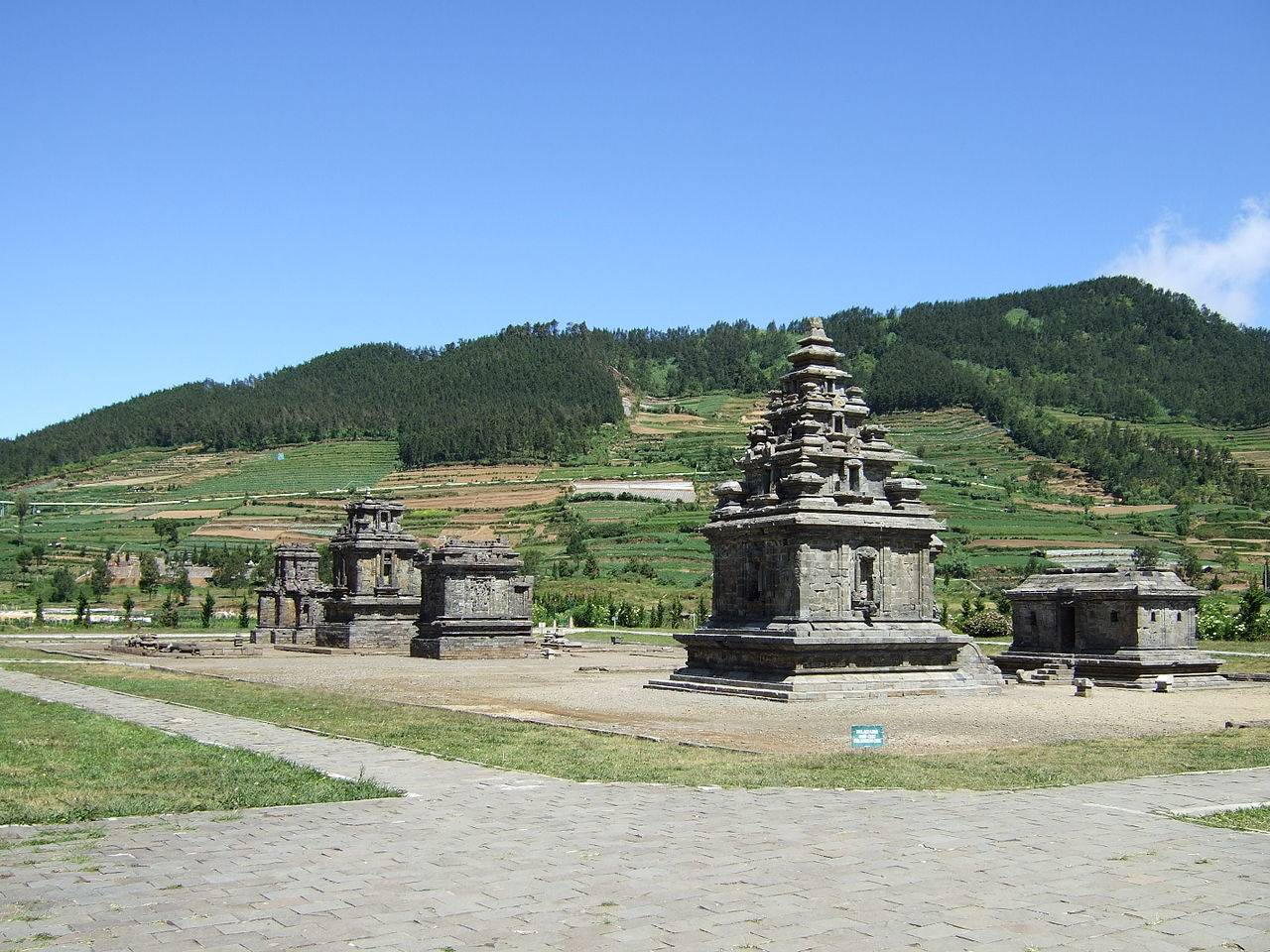 Kompleks Candi Arjuna Indonesia