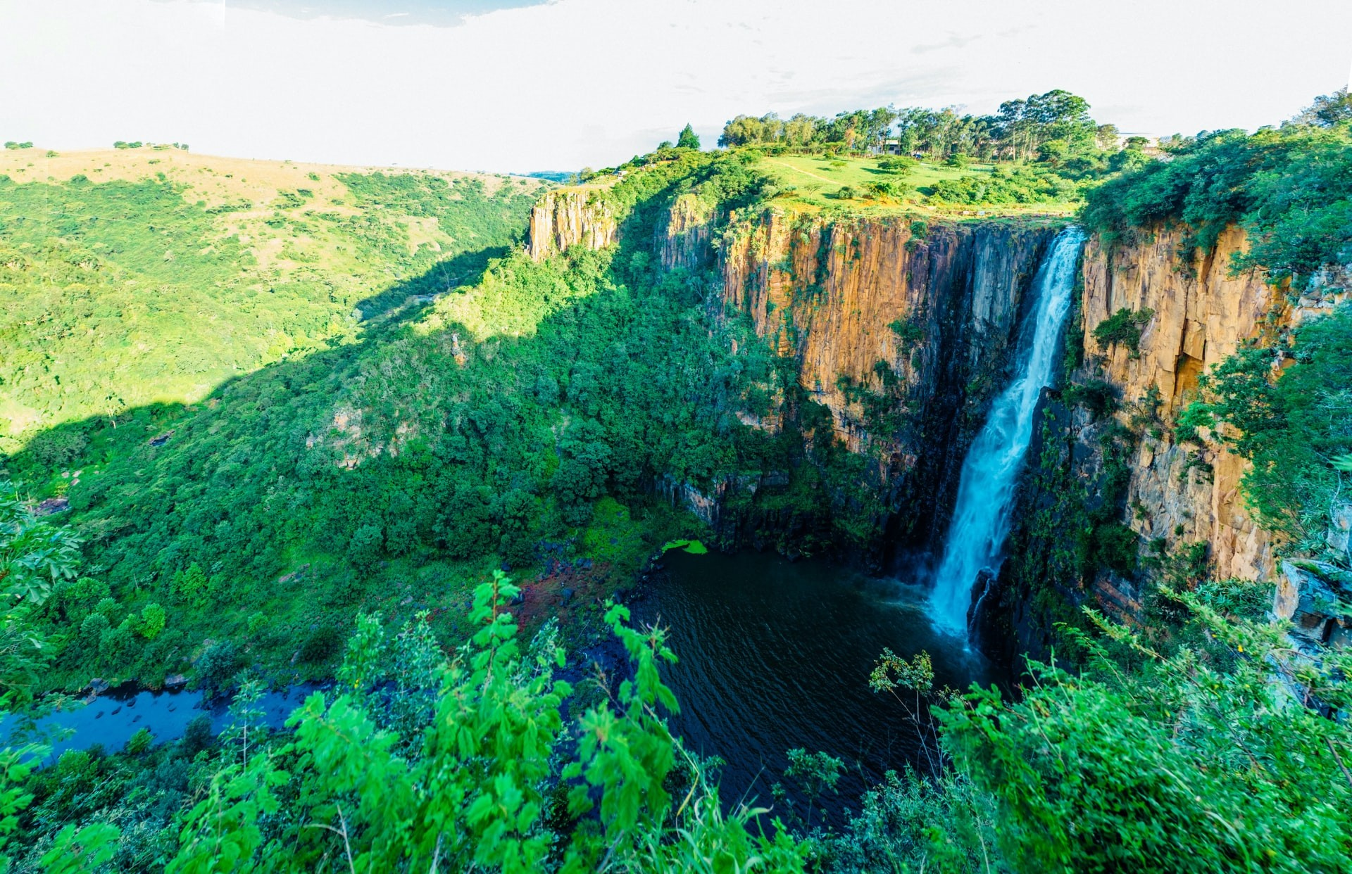 Howick Falls Durban South Africa