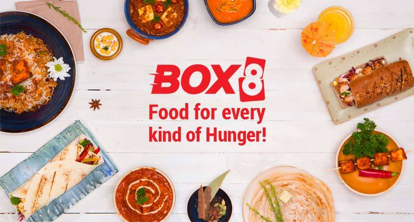 Box8 Food Delivery App India