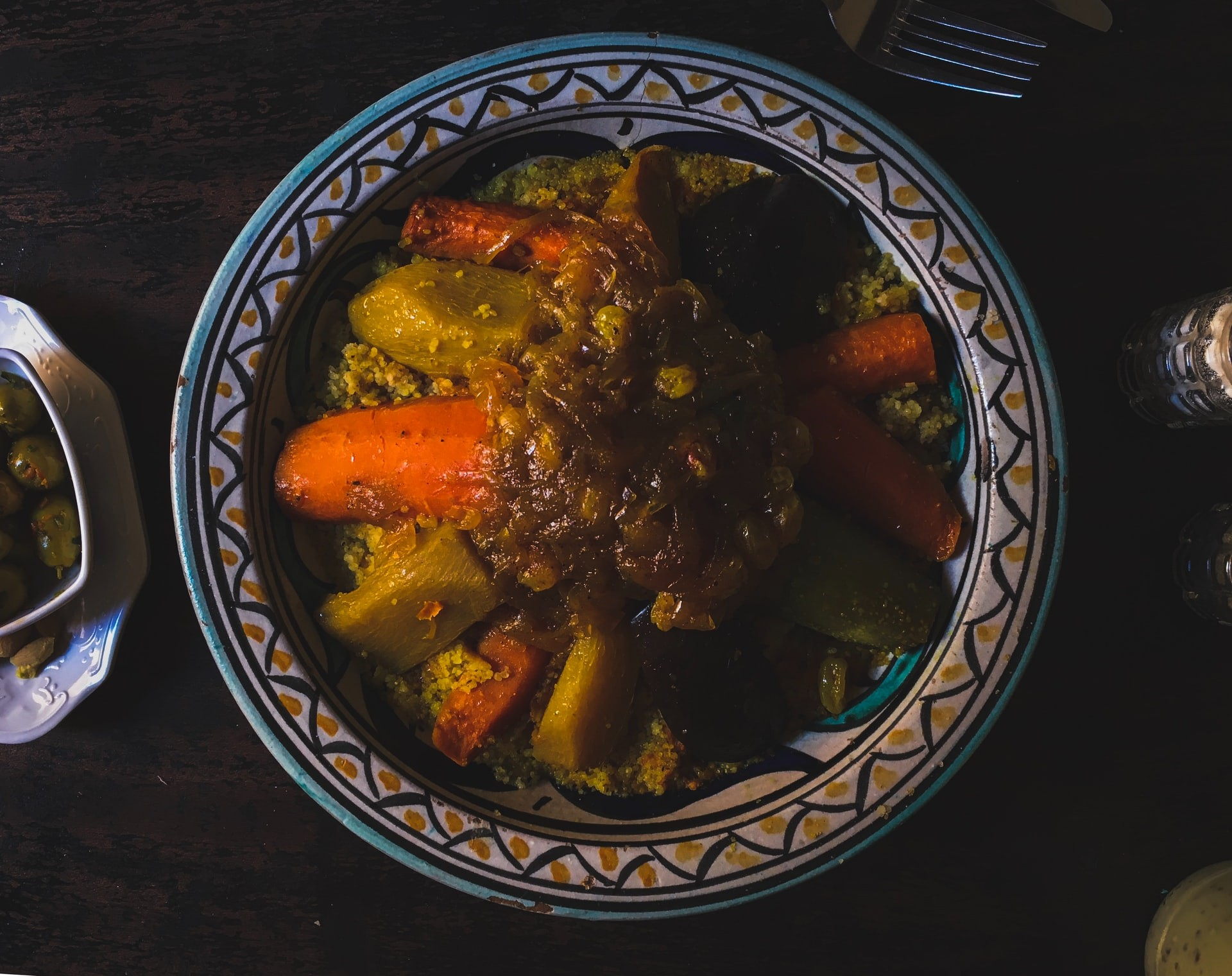 Couscous Maghreb North African food