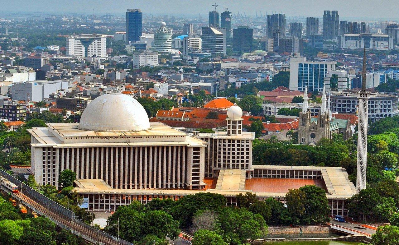 Masjid Istiqlal Mosque Jakarta Indonesia