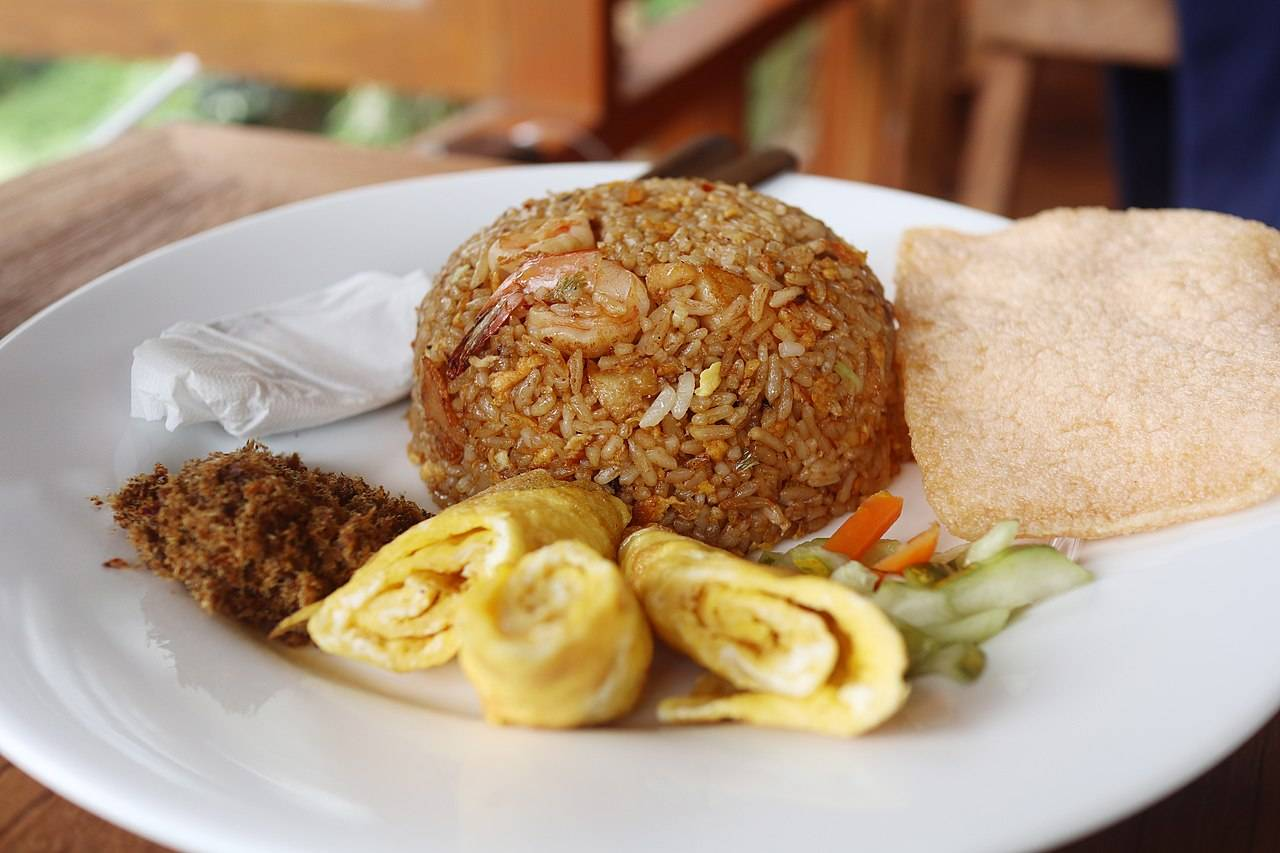 Nasi Goreng Indonesia Indonesian Food Fried Rice