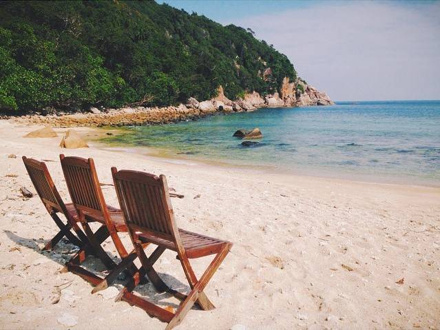 Teluk Kalong Beach Pulau Redang Island Malaysia