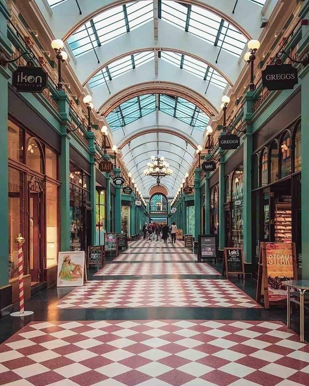 Great Western Arcade Birmingham UK
