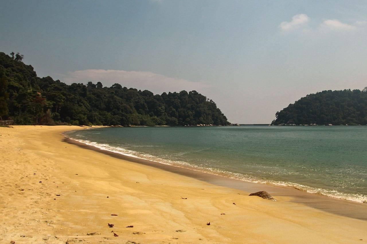 Pasir Bogak Beach Pangkor Island Malaysia