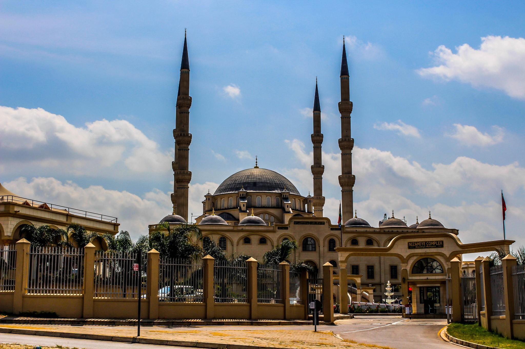 Nizamiye Mosque Midrand South Africa