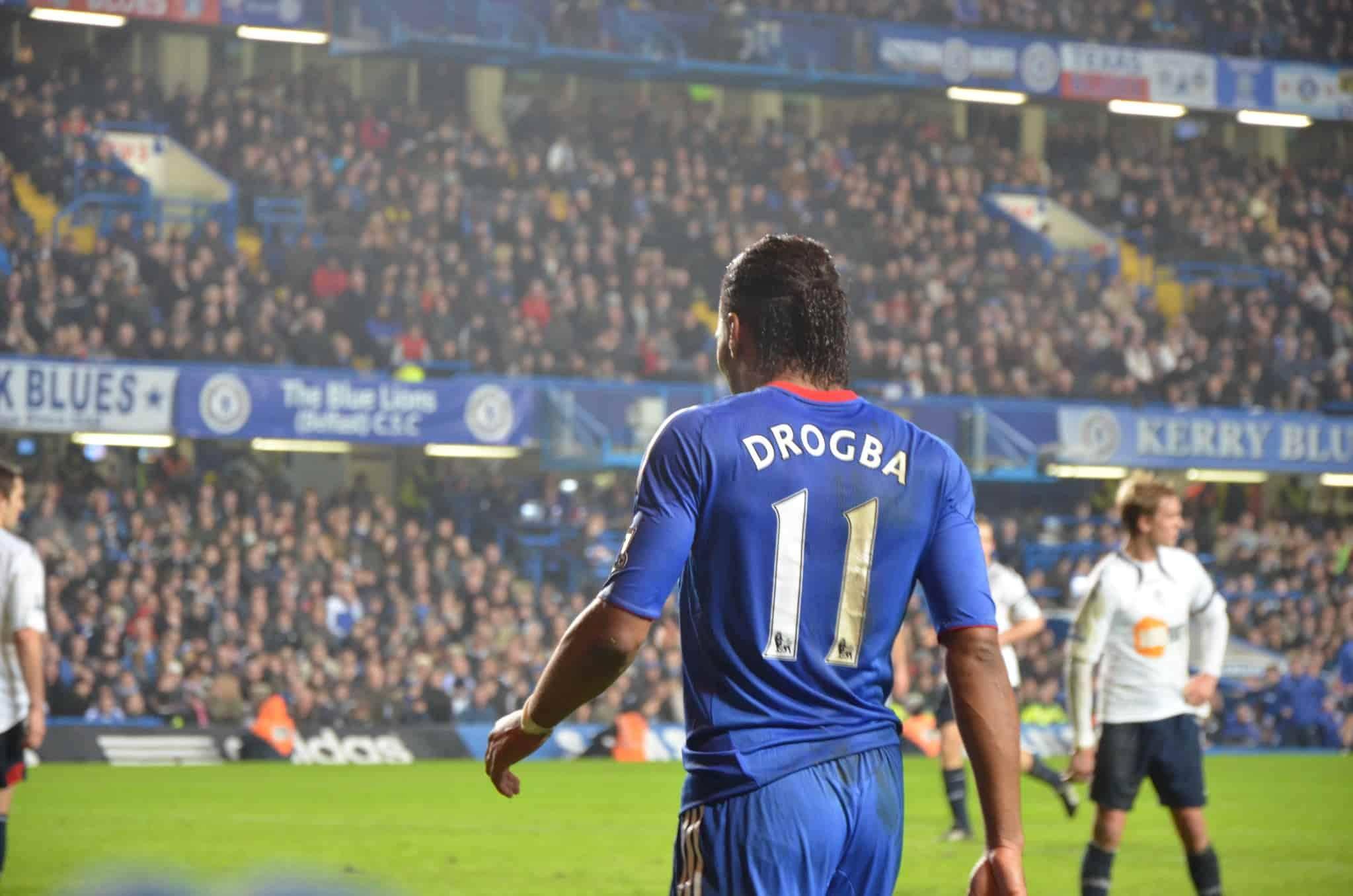 Didier Drogba Ivory Coast Chelsea EPL