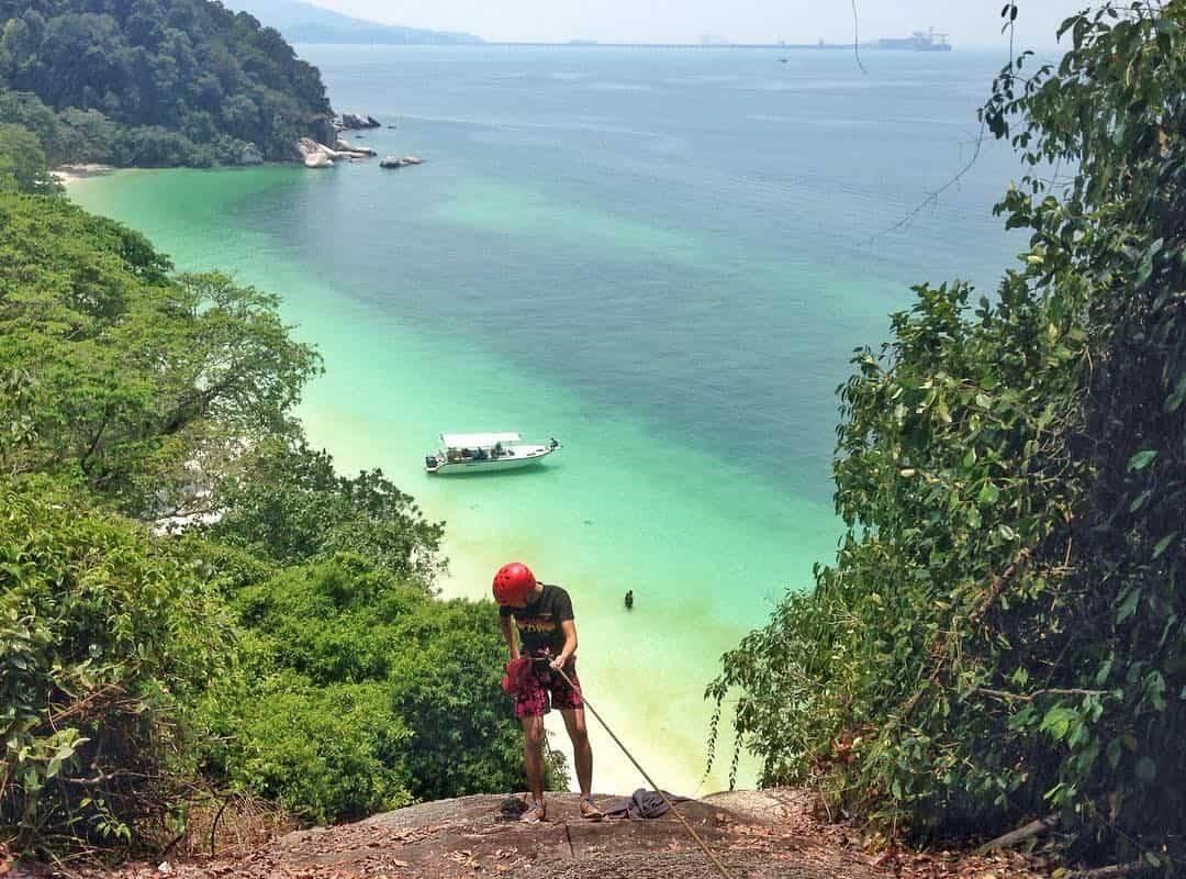 Teluk Segadas Bay Pangkor Island Malaysia