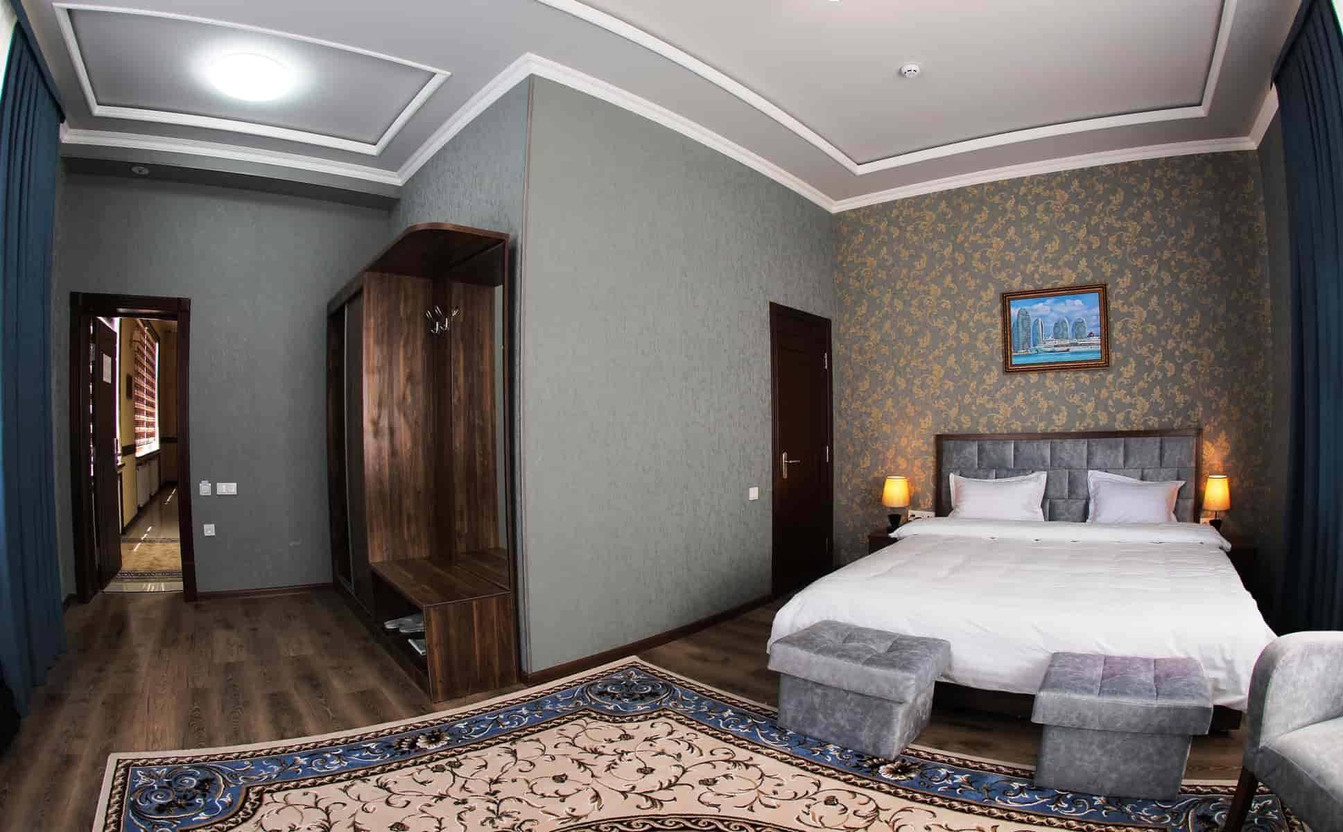 Ark Billur Hotel Room Tashkent Uzbekistan