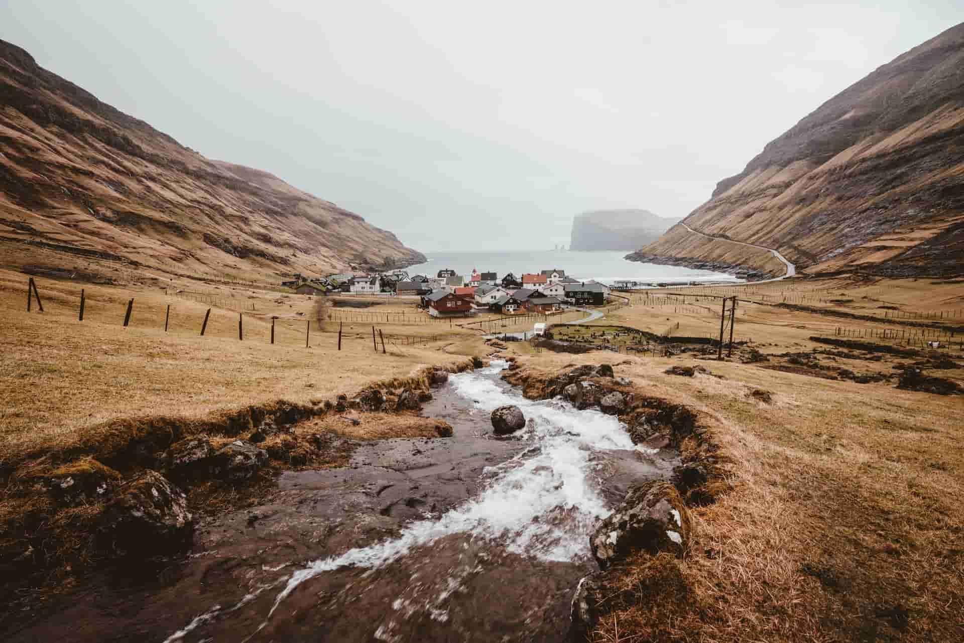 Tjornuvik Village Faroe Islands
