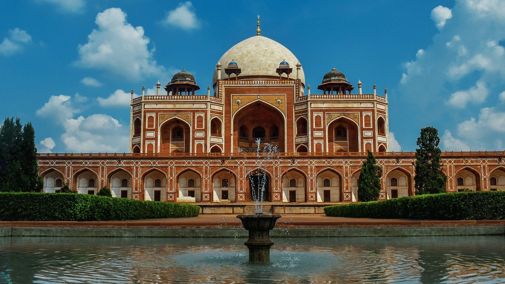 Humayun Tomb New Delhi India