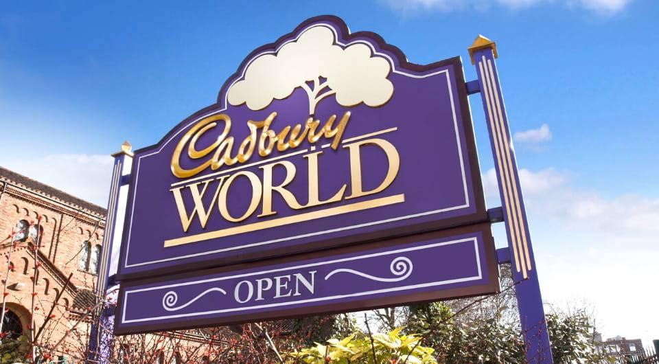 Cadbury World Birmingham UK