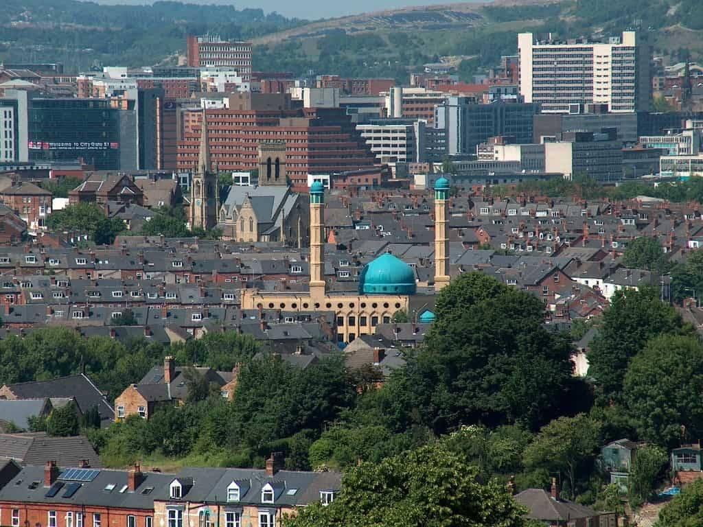 Madina Mosque Sheffield South Yorkshire England