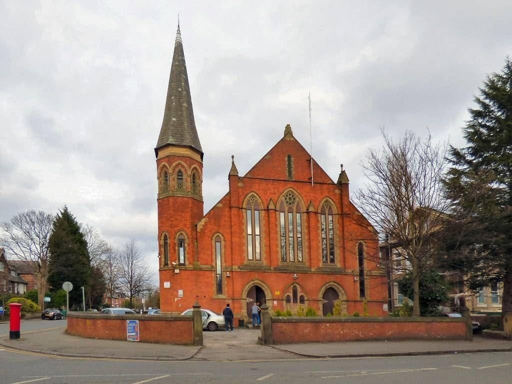 Didsbury Mosque Manchester England