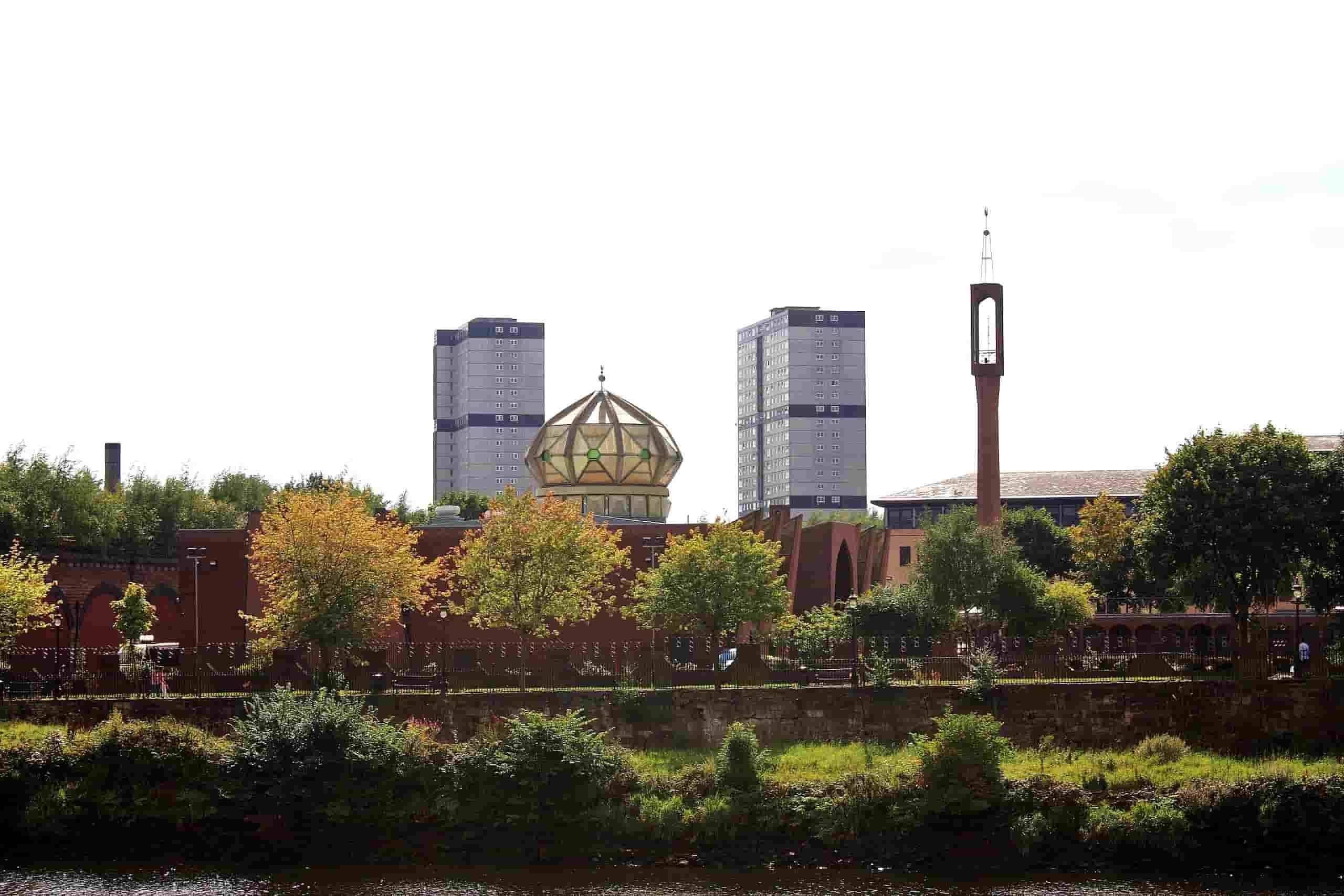 Masjid Glasgow Central Mosque Glasgow Scotland