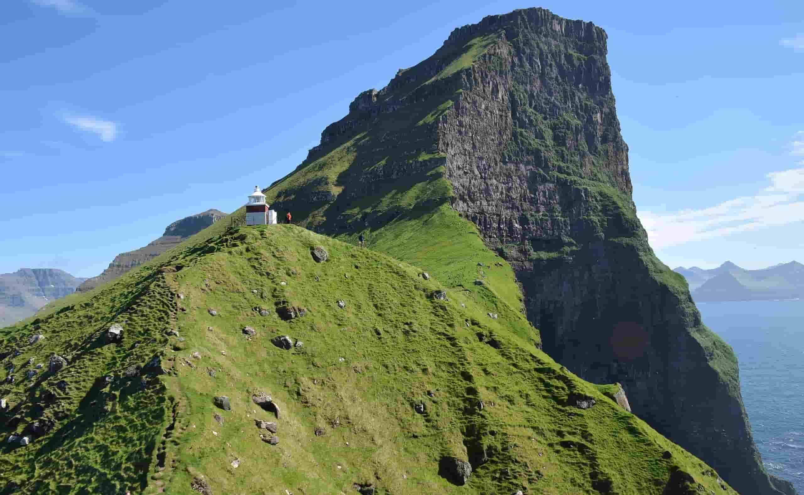 Kallur Lighthouse Faroe Islands