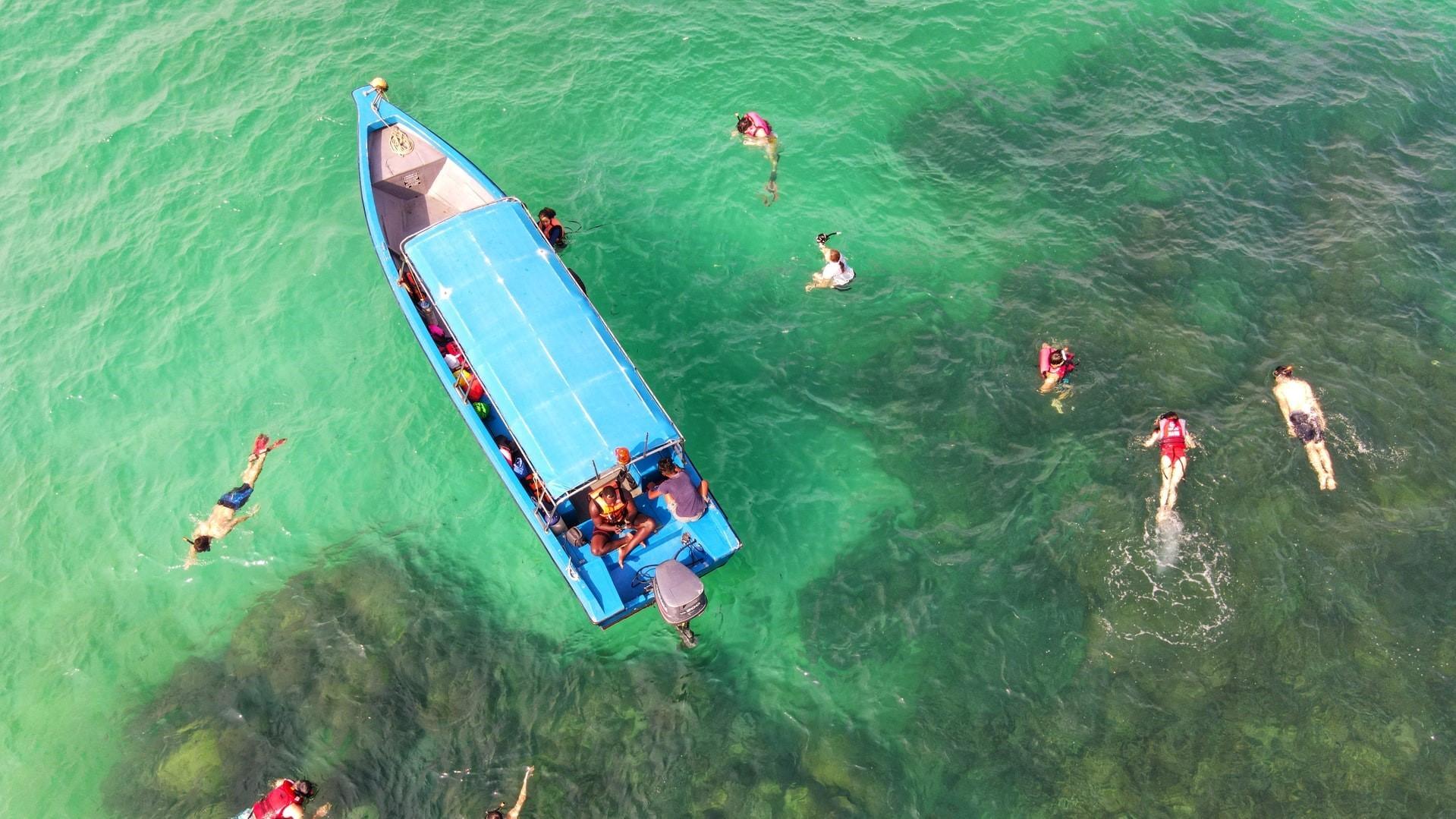 Snorkeling in Malaysia