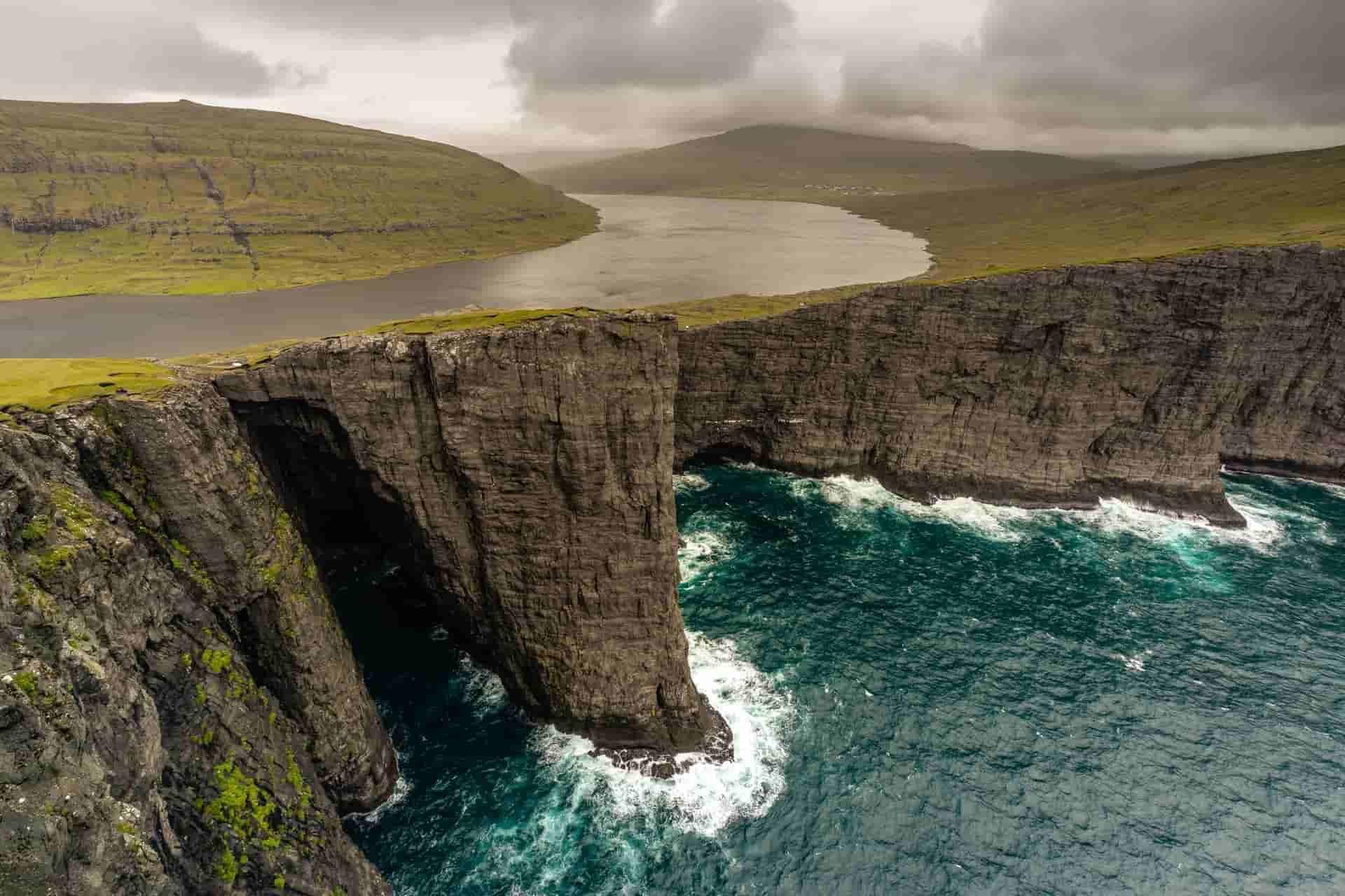 Traelanipa Lake Faroe Islands