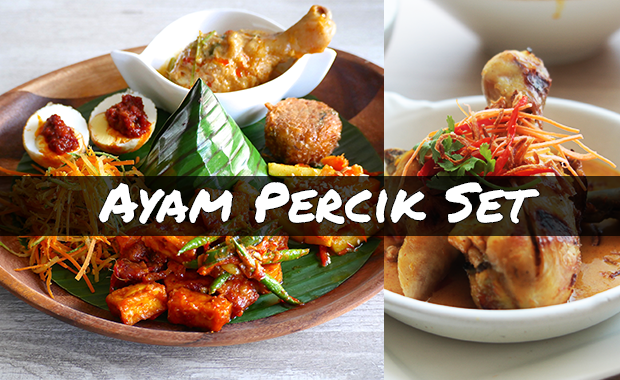 Chef Wan's Kitchen Ayam Percik 3-course Set