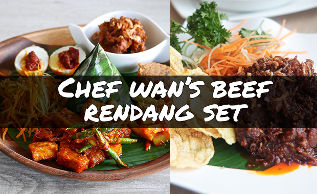 Chef Wan's Beef Rendang 3-course Set