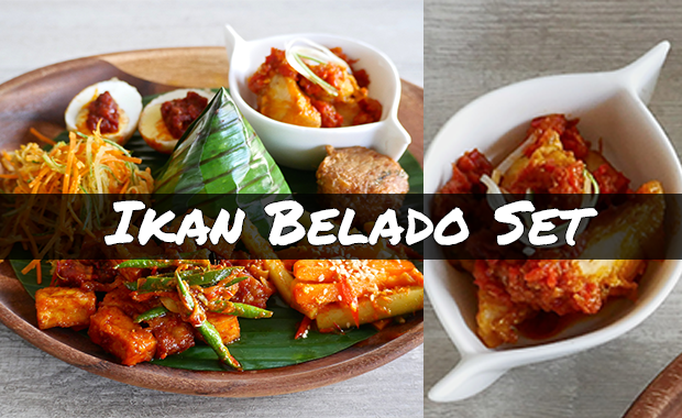 Ikan Belado 3-course Set