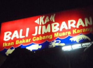 Ikan Bali Jimbaran