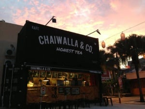 Chaiwalla and Co. Container Cafe