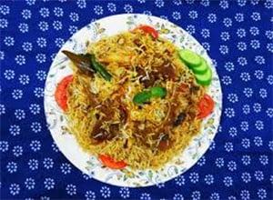 Halal dining area