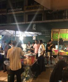 Salaya street food