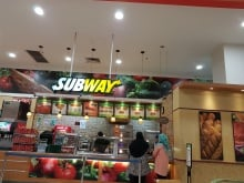 Subway at Aeon Bukit Indah
