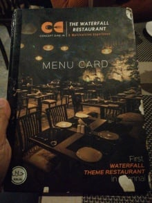 The Waterfall Restaurant