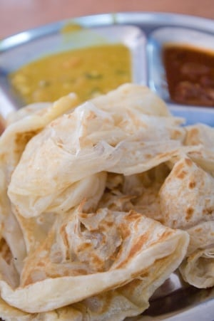 Mr and Mrs Mohgan's Super Crispy Prata
