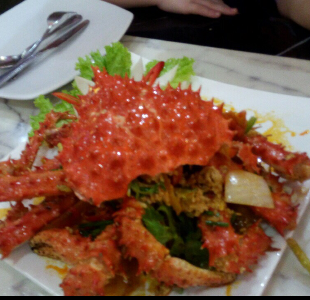 Find best Halal King Crab Yellow Curry | Halal Trip