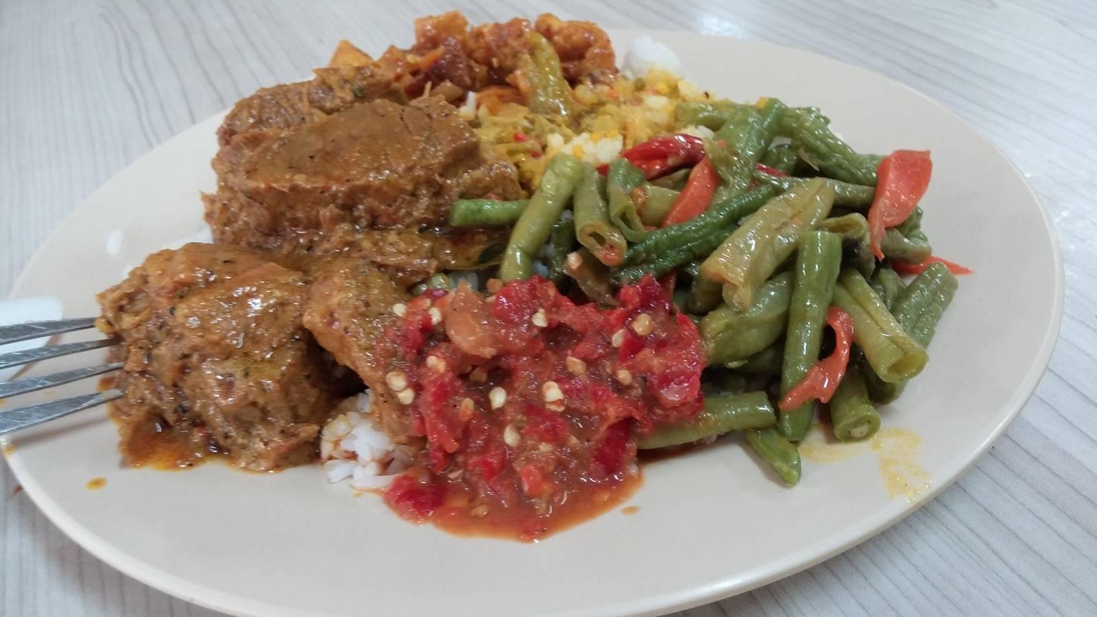 Rendang & Rice