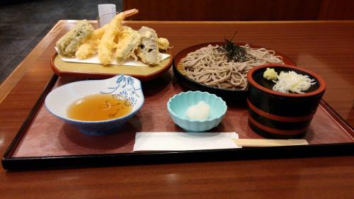 Soba noodles and Tempura