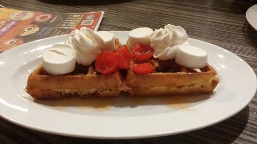 Rocky Road Waffle
