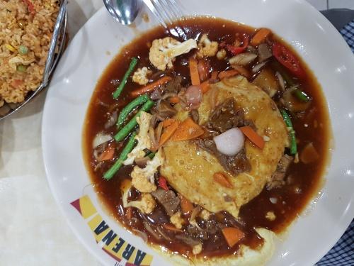 Nasi Goreng paprika daging