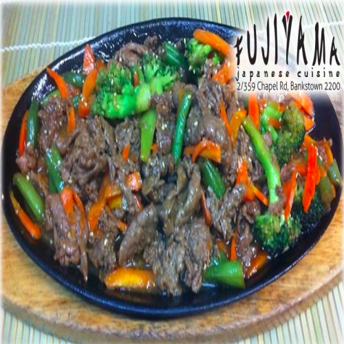 Beef Teriyaki Hotplate