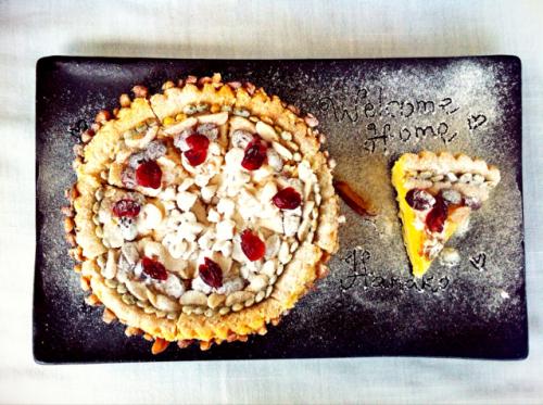 Snowing Pie Nuts
