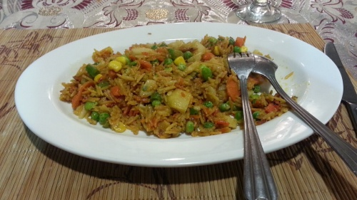 Vegetables Fried Rice