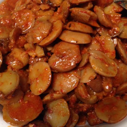 Spicy Jengkol