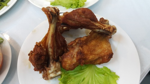 fried chicken - drumstick