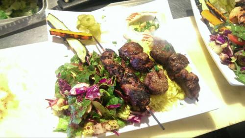 Kabab shawarma