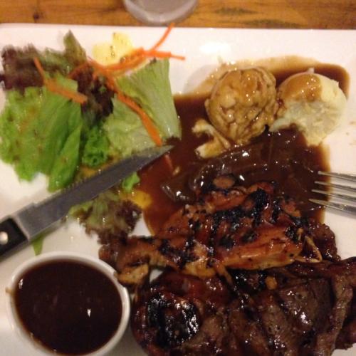special mix steak