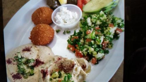 Mediterranean vegetarian dish