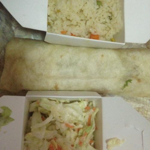 Mango Wrap Rice Coleslaw