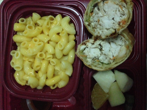 Texas chicken & macaroni with cheese